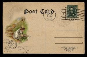 child postcard