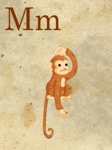 m- monkey - sweetly scrapped