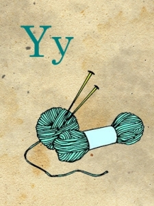 y - yarn - sweetly scrapped