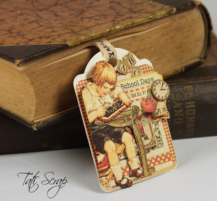 Tati, Bookmark, ABC, Graphic45, Photo 1