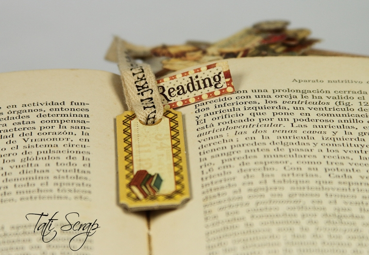 Tati, Bookmark, ABC, Graphic45, Photo  4