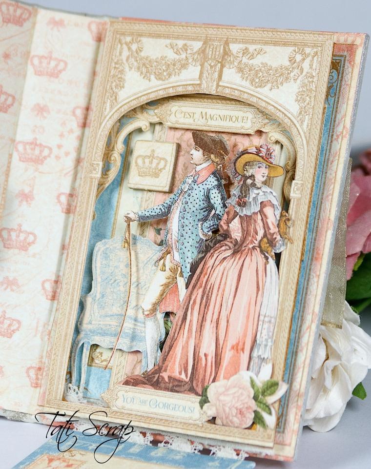 Tati, Card, Gilded Lily, Graphic45 Photo 10
