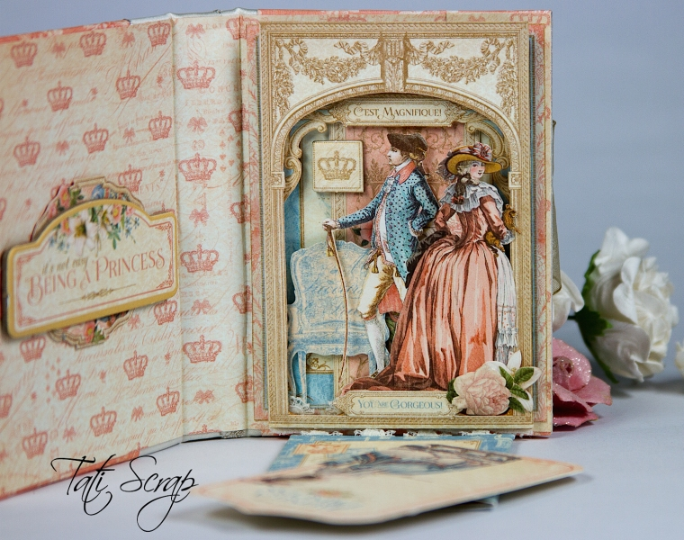 Tati, Card, Gilded Lily, Graphic45 Photo13