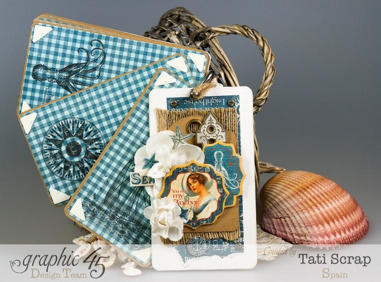 Tati, Mini, By The Sea, Graphic 45, Photo 6
