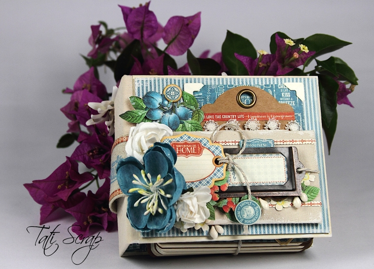 Tati, Recipe Book, Home Sweet Home, Graphic 45, Photo 7