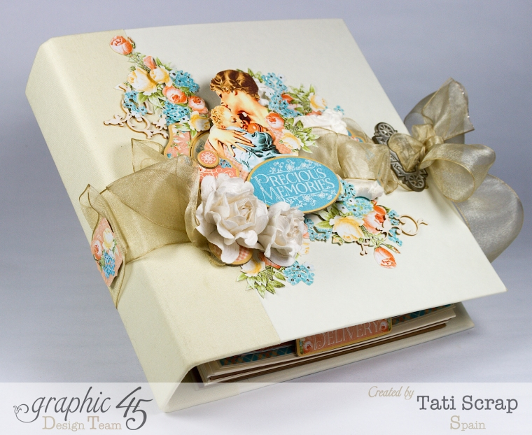 Tati, Album, Precious Memories, Graphic 45, Photo 1