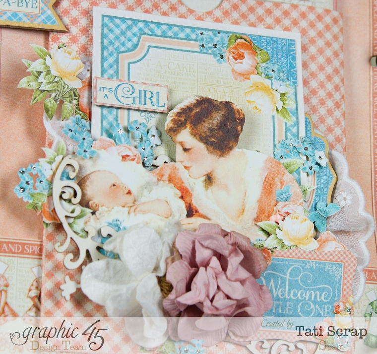 Tati, Album, Precious Memories, Graphic 45, Photo10