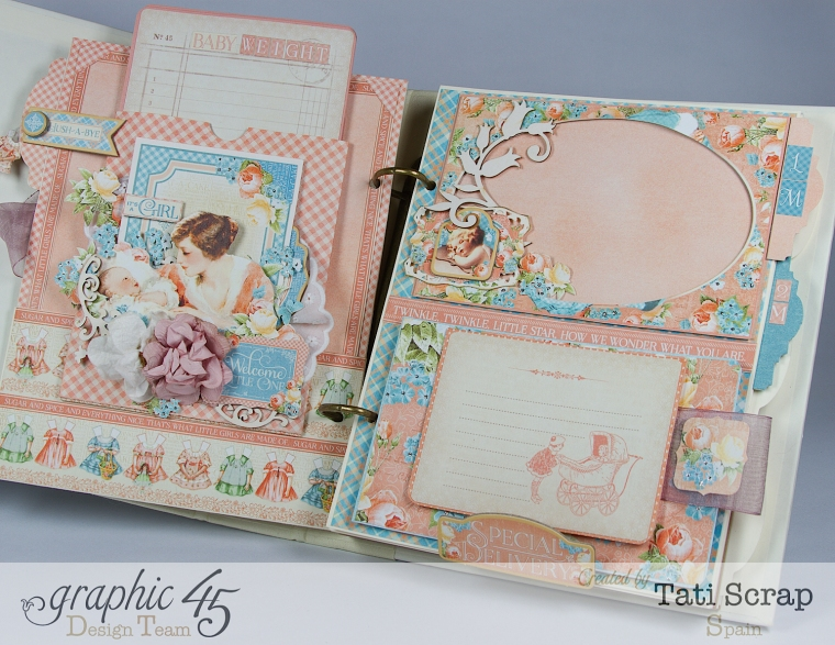 Tati, Album, Precious Memories, Graphic 45, Photo13
