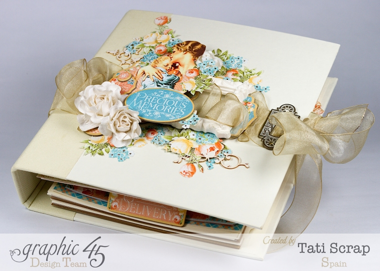 Tati, Album, Precious Memories, Graphic 45, Photo4