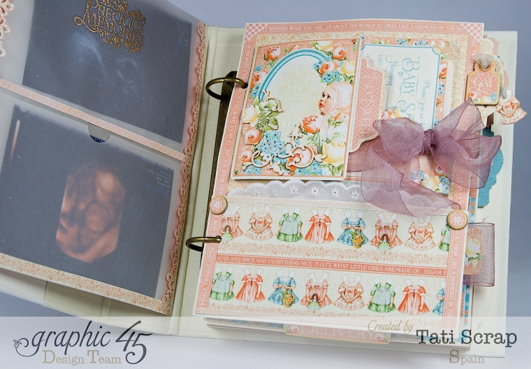Tati, Album, Precious Memories, Graphic 45, Photo6