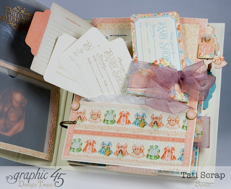 Tati, Album, Precious Memories, Graphic 45, Photo7