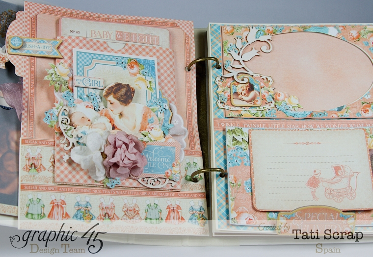Tati, Album, Precious Memories, Graphic 45, Photo9