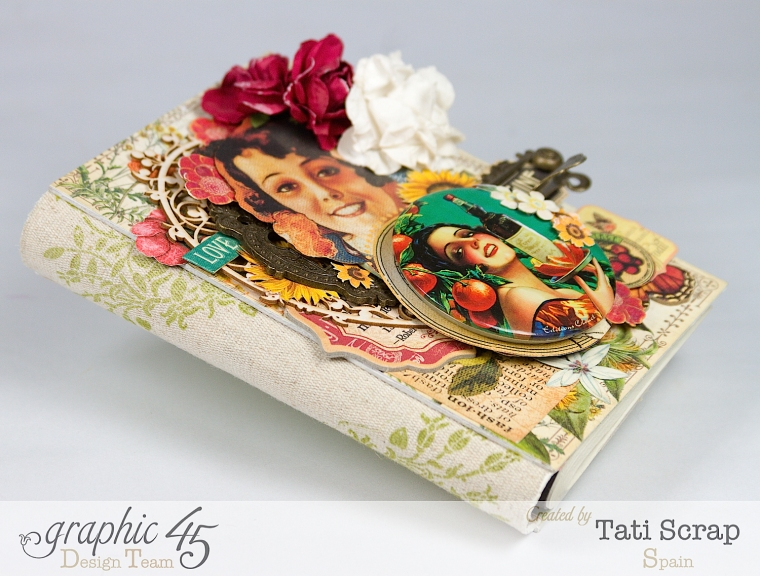 Tati, Notepad Holder, Clearsnap, Graphic 45, Photo 2