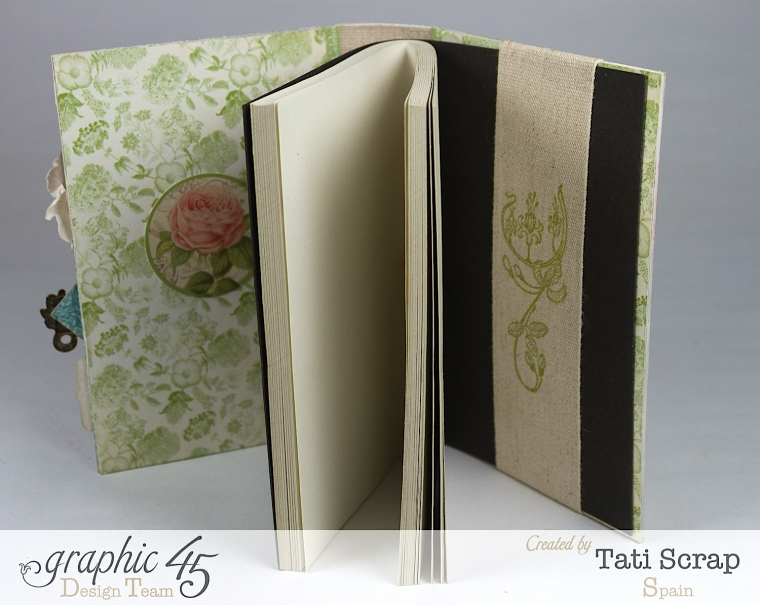 Tati, Notepad Holder, Clearsnap, Graphic 45, Photo 5