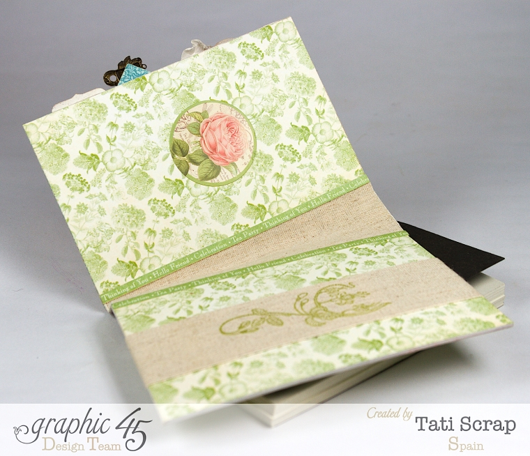 Tati, Notepad Holder, Clearsnap, Graphic 45, Photo 6