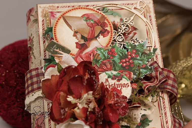 Tati, A Christmas Carol Album, product by Graphic 45, Photo3