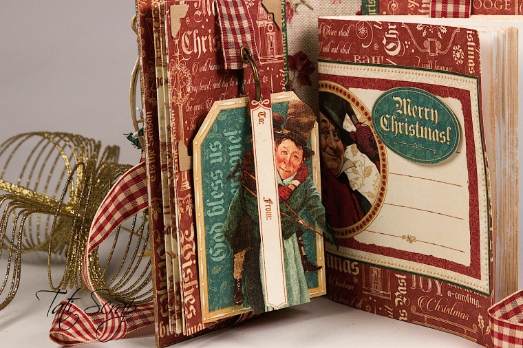 Tati, A Christmas Carol Album, product by Graphic 45, Photo4