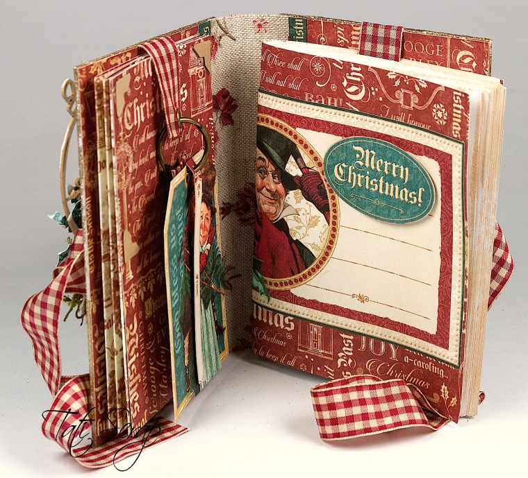 Tati, A Christmas Carol Album, product by Graphic 45, Photo5