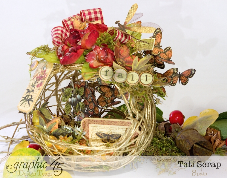 Tati, Fall Decor, Botanicabella, Product by Graphic 45, Photo 0