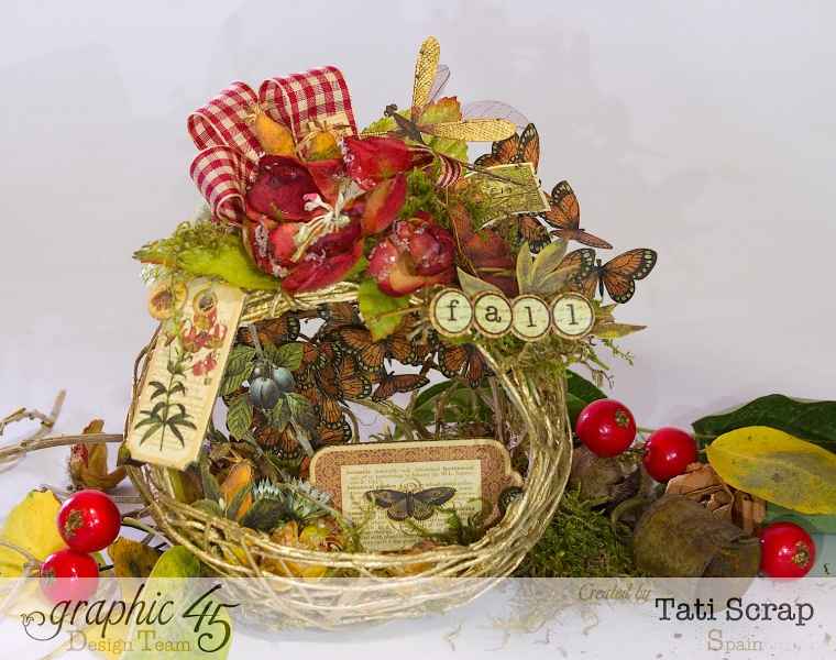 Tati, Fall Decor, Botanicabella, Product by Graphic 45, Photo 1
