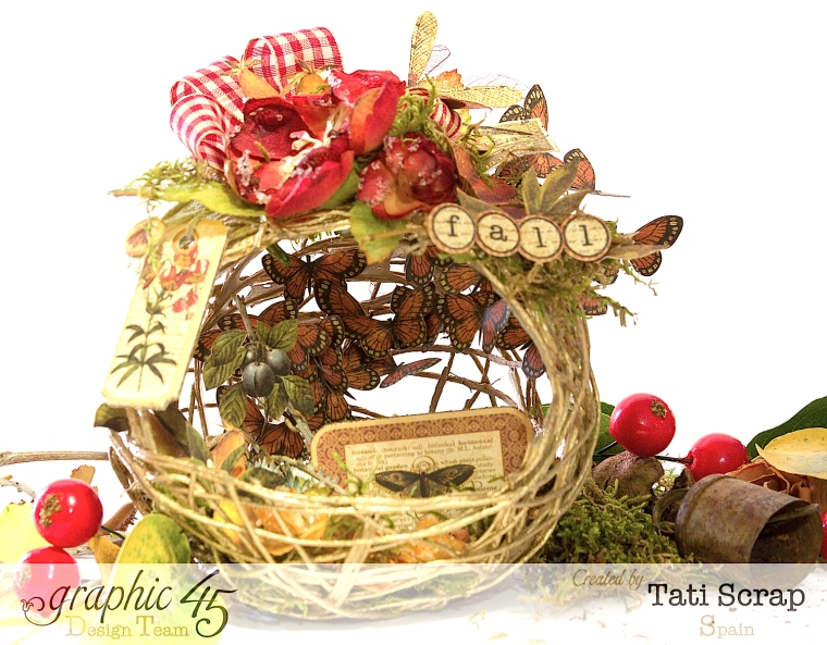 Tati, Fall Decor, Botanicabella, Product by Graphic 45, Photo 10
