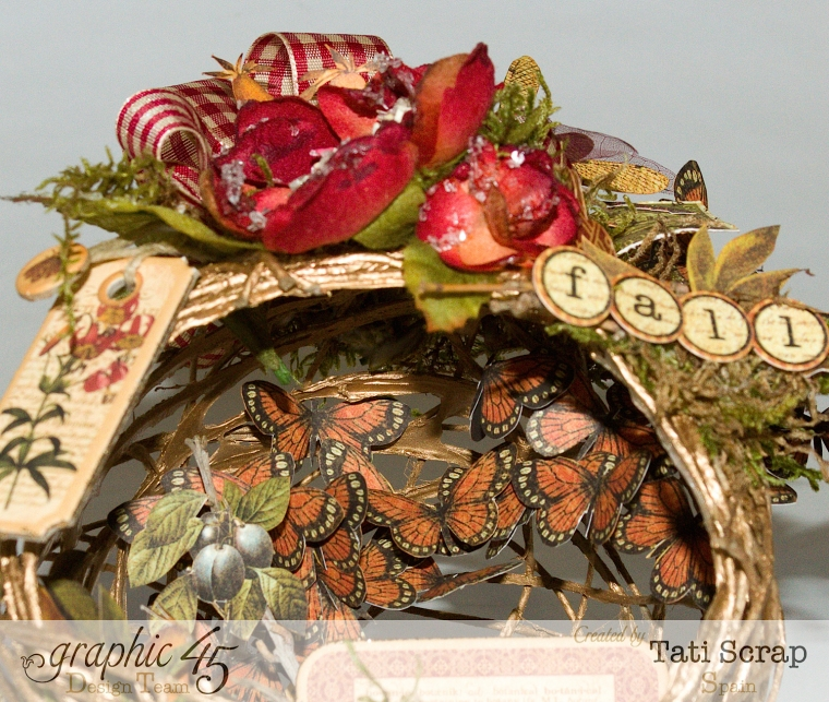 Tati, Fall Decor, Botanicabella, Product by Graphic 45, Photo 11
