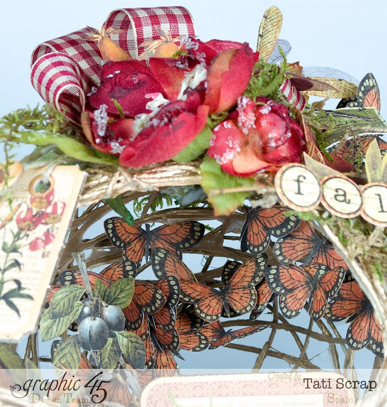 Tati, Fall Decor, Botanicabella, Product by Graphic 45, Photo 12