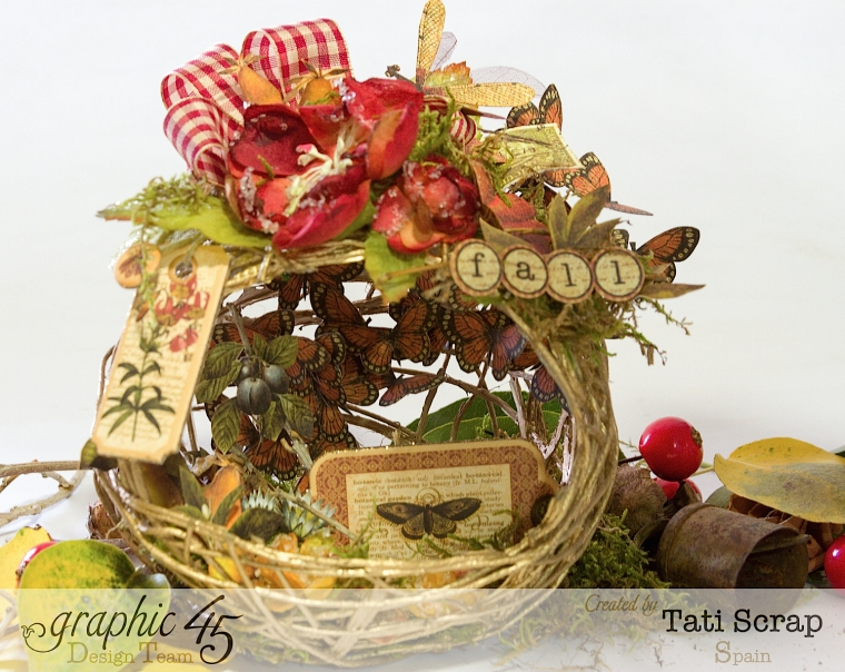 Tati, Fall Decor, Botanicabella, Product by Graphic 45, Photo 2