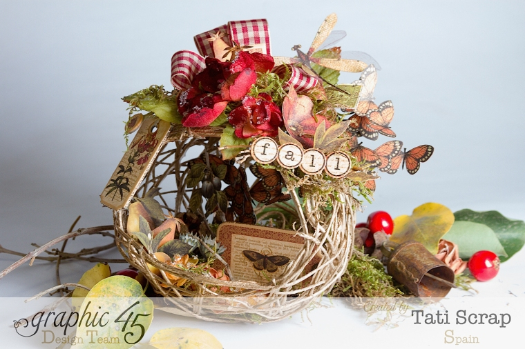 Tati, Fall Decor, Botanicabella, Product by Graphic 45, Photo 3