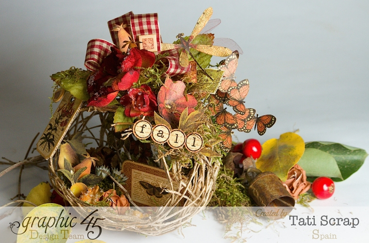 Tati, Fall Decor, Botanicabella, Product by Graphic 45, Photo 4