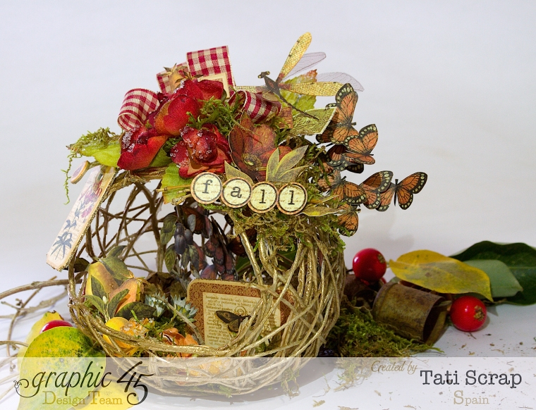 Tati, Fall Decor, Botanicabella, Product by Graphic 45, Photo 5