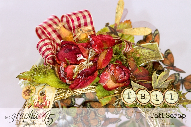 Tati, Fall Decor, Botanicabella, Product by Graphic 45, Photo 6