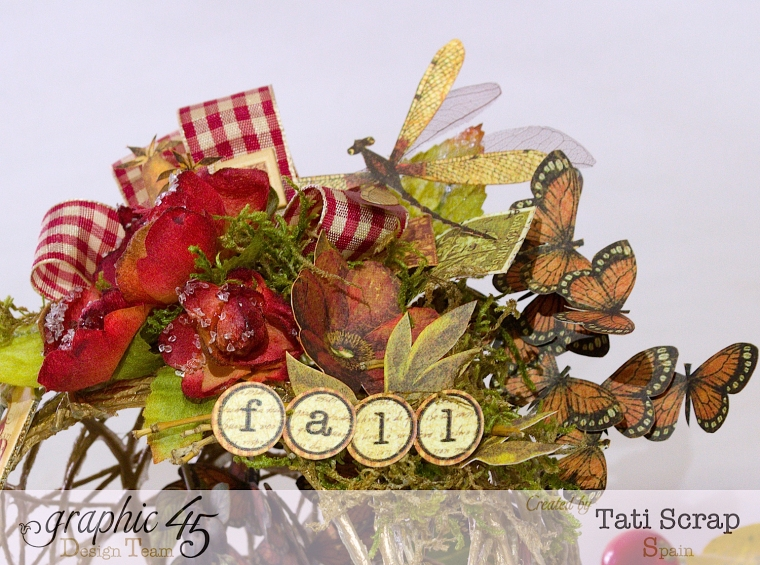 Tati, Fall Decor, Botanicabella, Product by Graphic 45, Photo 7