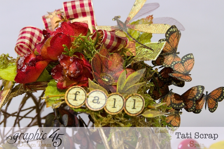 Tati, Fall Decor, Botanicabella, Product by Graphic 45, Photo 8