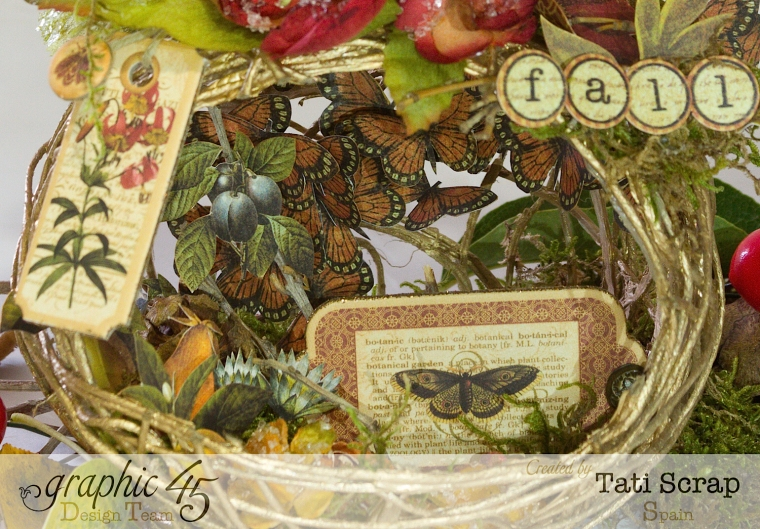 Tati, Fall Decor, Botanicabella, Product by Graphic 45, Photo 9