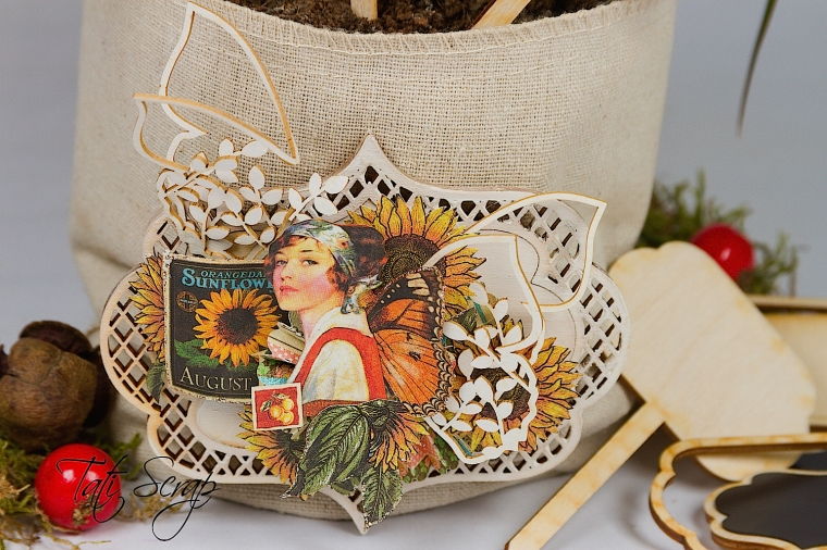 Tati, flowerpot, Wycinanca, Photo 4