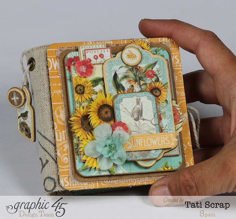 Tati,Phone book, Time to Flourish, Graphic 45, Photo1
