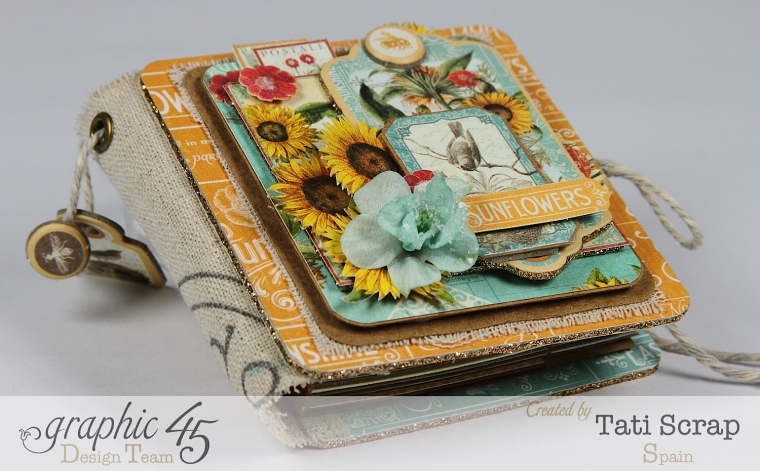 Tati,Phone book, Time to Flourish, Graphic 45, Photo4