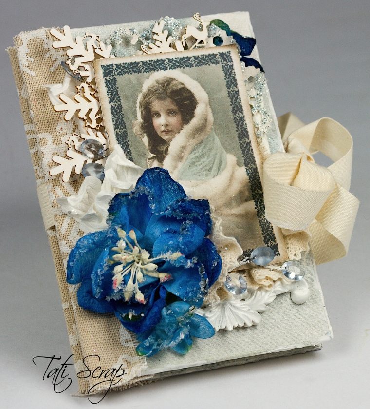 Tati, Christmas, Mini Album, Scrapberry´s, Photo2