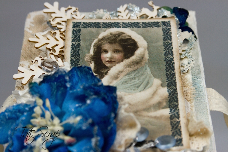 Tati, Christmas, Mini Album, Scrapberry´s, Photo5