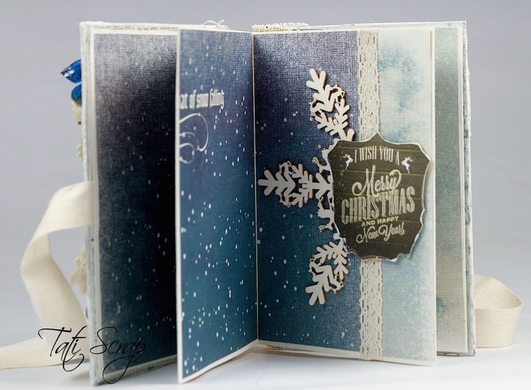Tati, Christmas, Mini Album, Scrapberry´s, Photo8