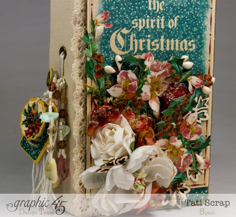 Tati, December Daily, Mini Album Christmas Carol, Product by Graphic 45, Photo13