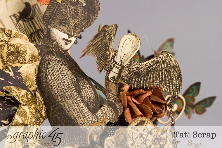 Tati, Steampunk Debutante, Product by Graphic 45, Photo 3