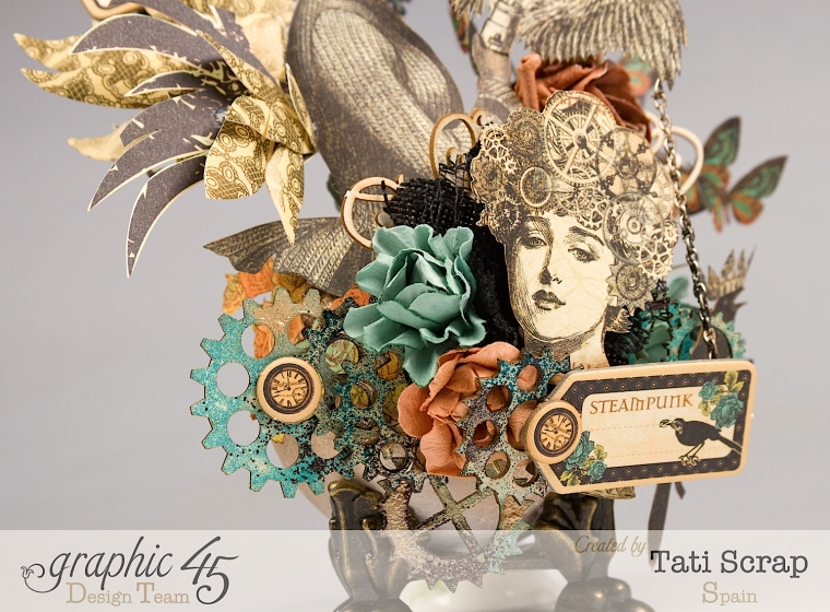 Tati, Steampunk Debutante, Product by Graphic 45, Photo 4