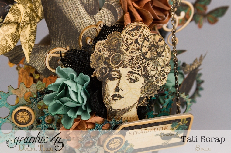 Tati, Steampunk Debutante, Product by Graphic 45, Photo 6