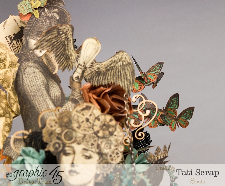 Tati, Steampunk Debutante, Product by Graphic 45, Photo 7