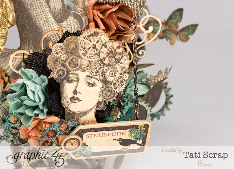 Tati, Steampunk Debutante, Product by Graphic 45, Photo 8