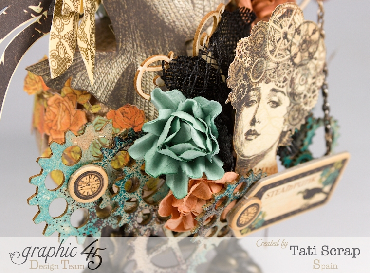 Tati, Steampunk Debutante, Product by Graphic 45, Photo 9