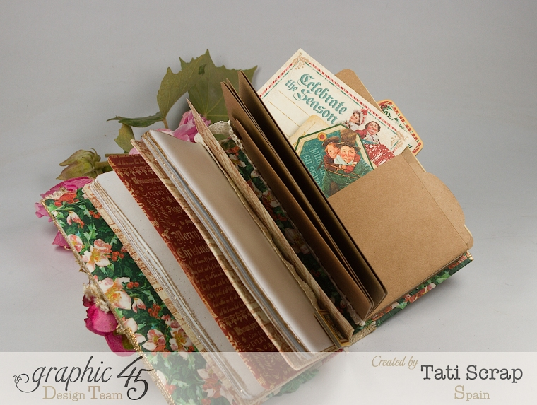 Tati, Christmas Diary, Graphic 45, Photo 4