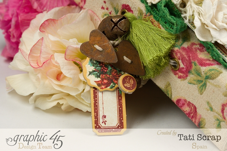 Tati, Christmas Diary, Graphic 45, Photo 7